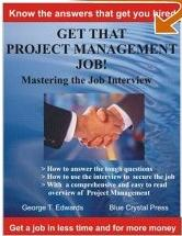 PROJECT MANAGER JOB INTERVIEW